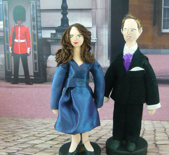 William and Kate dolls